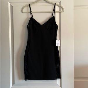 Black mini dress from revolve. NWT